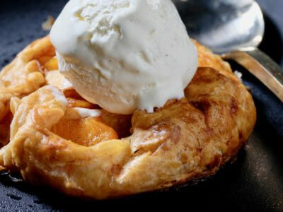 rustic-apple-peach-tart