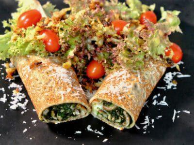 buckwheat-crepes-savory-spinach-mushrooms