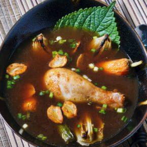 chicken-garlic-broth