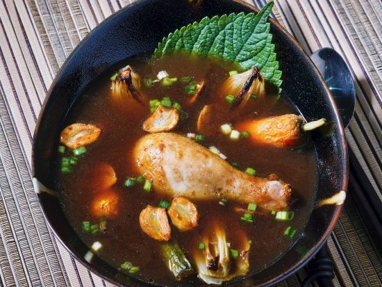 chicken-garlic-broth