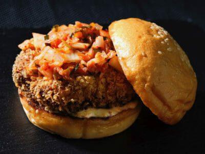 chicken-kimchi-burger
