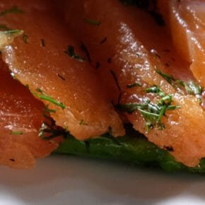 citrus-gin-star-anise-cured-salmon