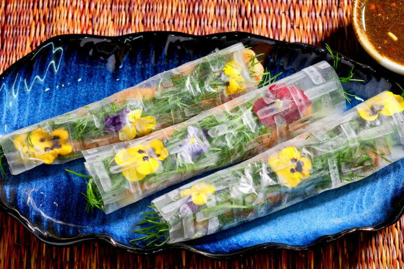 Vietnamese-rice-paper-rolls-fish-dill-spring-rolls