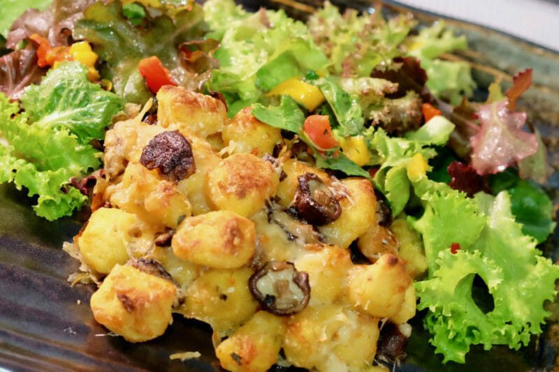 gnocchi-al-forno-creamy-mushroom-gnocchi