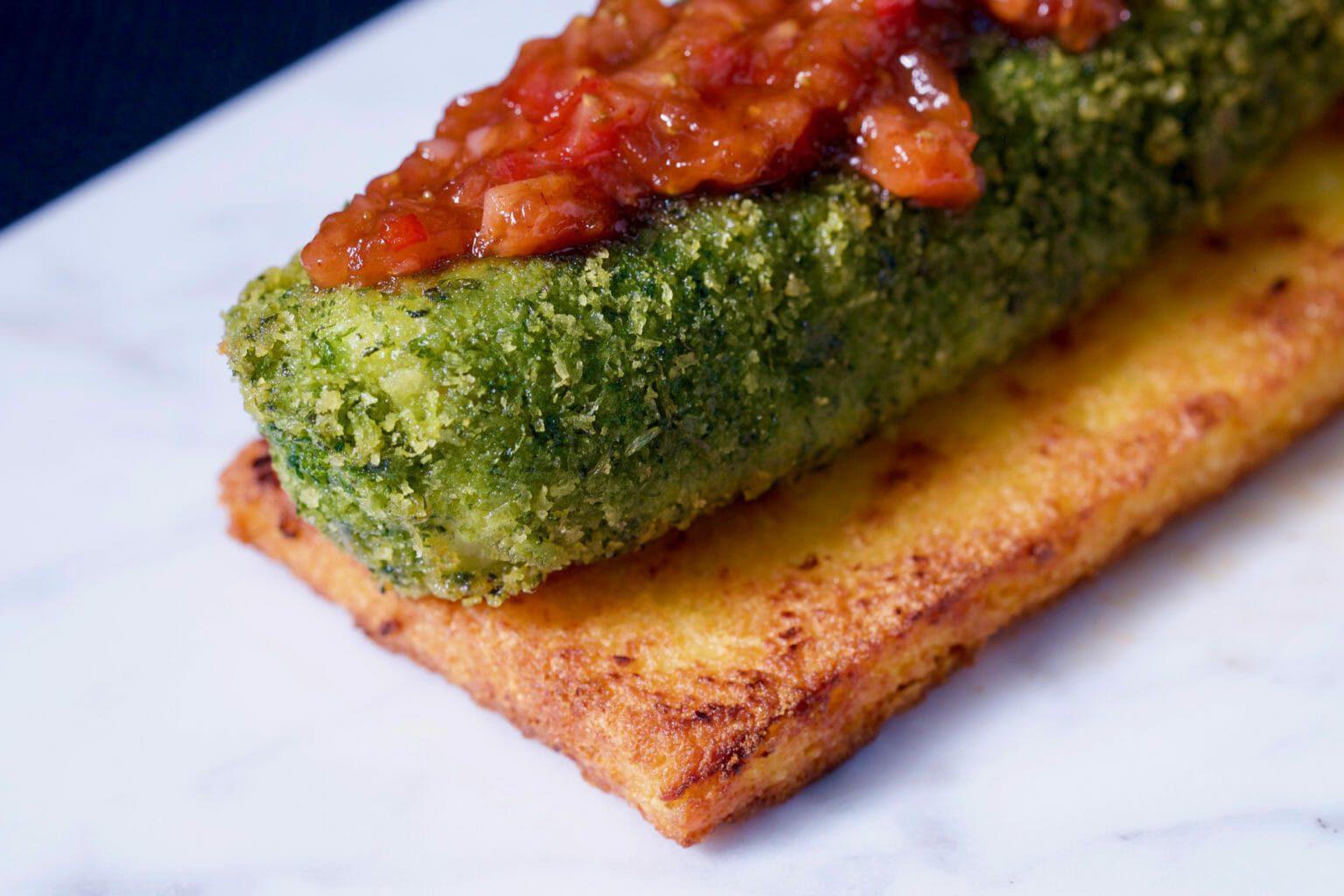 panko-crusted-cod-grilled-parmesan-polenta-strawberry-relish