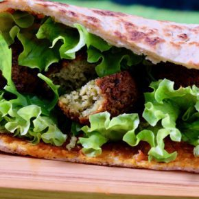 falafel-with-pita-bread-and-chilli-jam