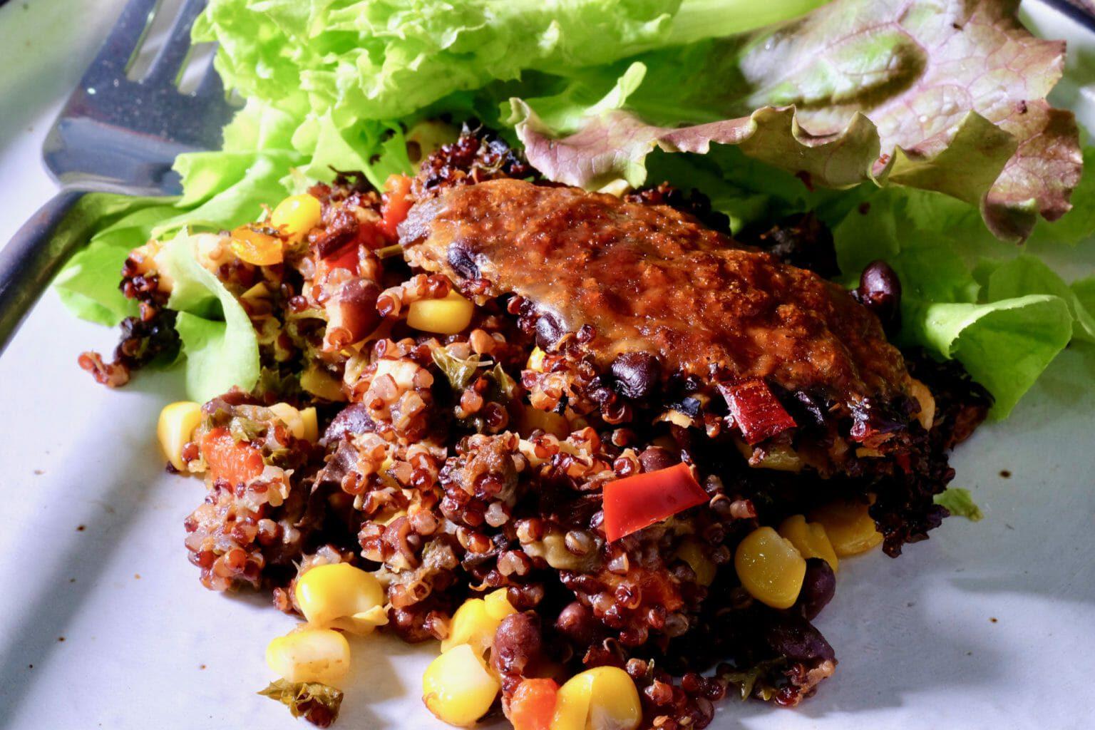 black-bean-quinoa-bake