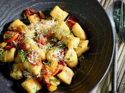 ricotta-gnocchi-slow-roasted-tomatoes