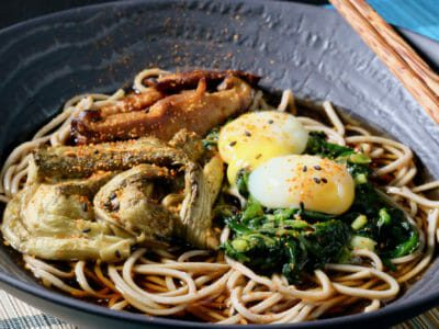 soba-noodles-with-grilled-eggplant