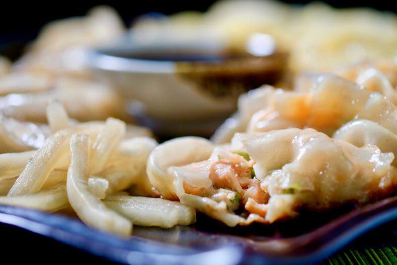 salmon-asparagus-gyoza-ponzu-dipping-sauce