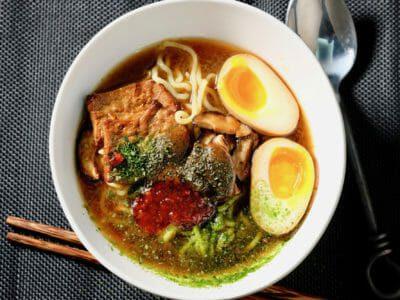 Vegetarian-Red-Miso-Ramen